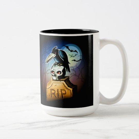 The Raven`s Skull Mug