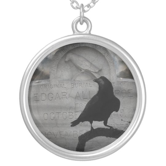 The Raven Silver Plated Necklace