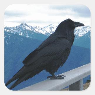 The Raven Square Sticker