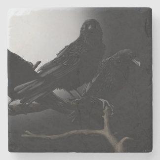 The Ravens Nevermore Stone Coaster