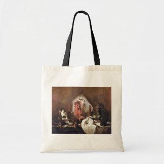 The Rays By Chardin Jean-Baptiste Siméon (Best Qua Canvas Bag