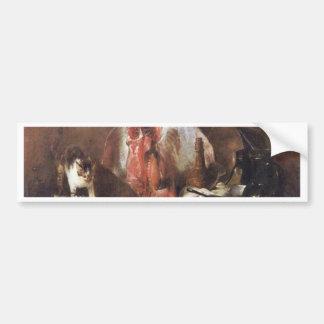 The Rays By Chardin Jean-Baptiste Siméon (Best Qua Bumper Stickers