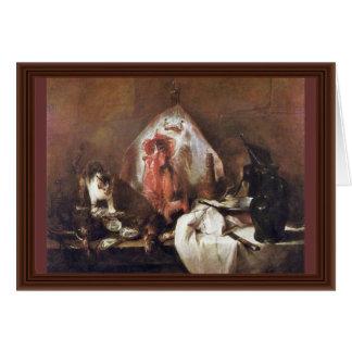 The Rays By Chardin Jean-Baptiste Siméon (Best Qua Card