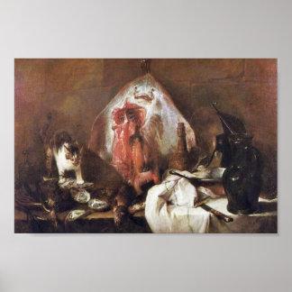 The Rays By Chardin Jean-Baptiste Siméon (Best Qua Posters