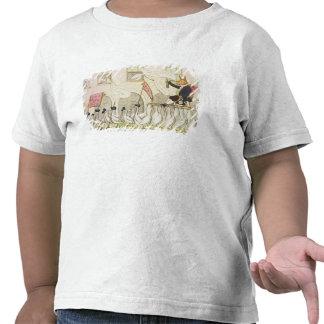 The Re-Electing of Reynard or Fox Tshirts