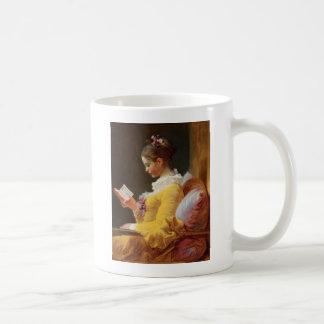 The Reader Basic White Mug