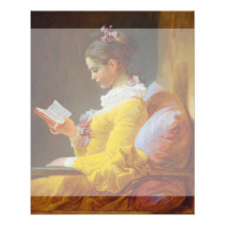 The Reader by Jean-Honore Fragonard Personalized Flyer