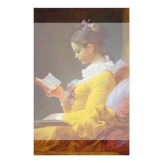The Reader by Jean-Honore Fragonard Flyer Design