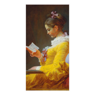 The Reader by Jean-Honore Fragonard Personalised Photo Card