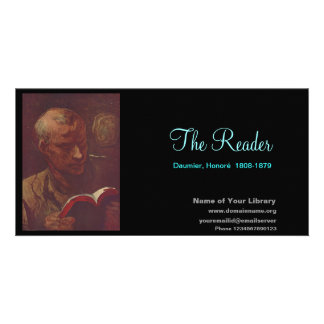 The Reader Picture Card