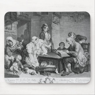 The Reading of the Bible Mouse Mat
