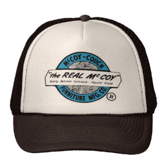"""""""The Real McCoy""""  McCoy Couch Furniture MFG CO. Cap"""