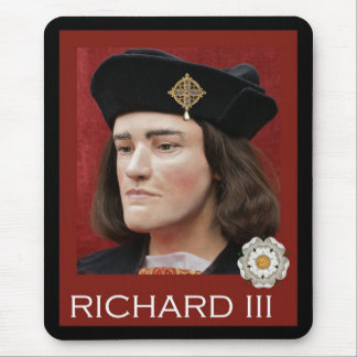 The Real McCoy Richard III Mouse Mat