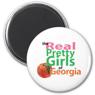 the real PRETTY GIRLS of Georgia 6 Cm Round Magnet