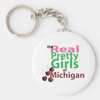the real PRETTY GIRLS of Michigan Key Ring