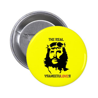 The Real Revolutionary 6 Cm Round Badge