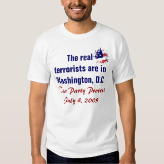 The real terrorists tees