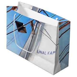 The Realist Adjusts The Sails Large Gift Bag