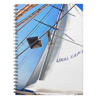The Realist Adjusts The Sails pill Notebook