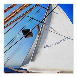 The Realist Adjusts The Sails Poster