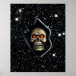 THE REAPER COMETH (skull design) ~ Poster