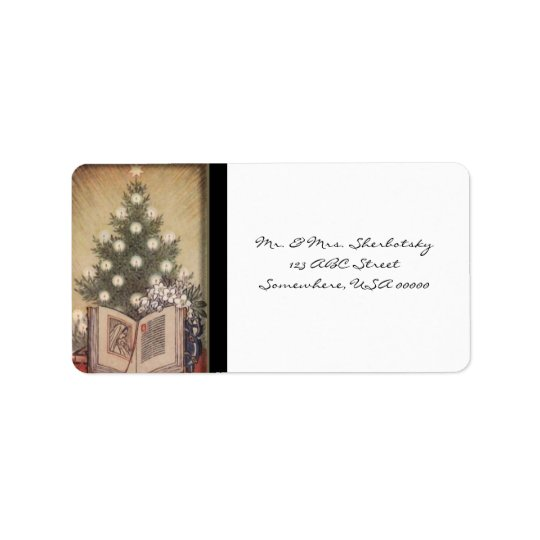 The Reason For The Season Address Label