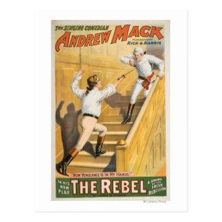 """The Rebel"" Irish Rebellion Drama - Fencing Post Cards"