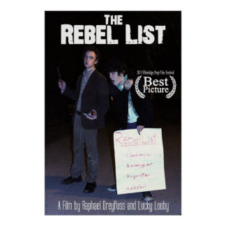 The Rebel List Poster