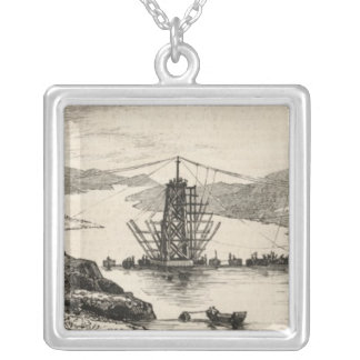 The recent tour of the Viceroy of India in Silver Plated Necklace