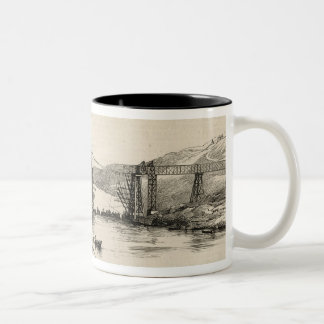 The recent tour of the Viceroy of India in Two-Tone Coffee Mug