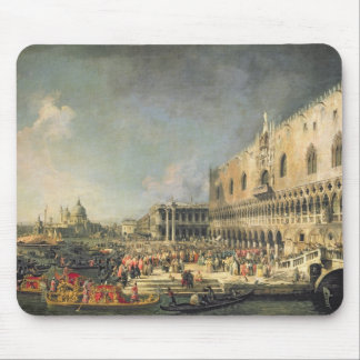 The Reception of the French Ambassador in Venice, Mouse Pad