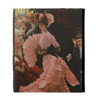 The Reception or, L'Ambitieuse (Political Woman) c iPad Folio Cases