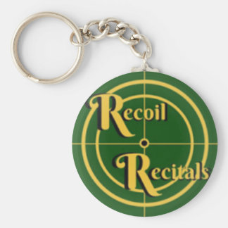 The Recoil Recitals Official Logo Keychain