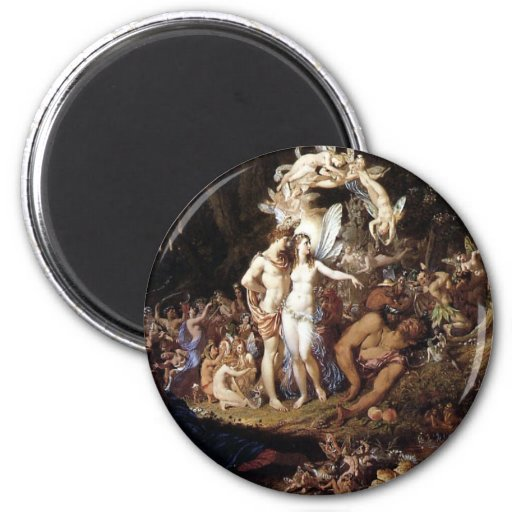The Reconciliation of Titania and Oberon Refrigerator Magnet
