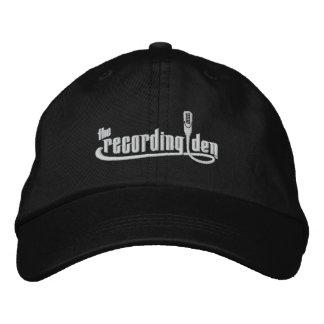 The Recording Den - Adjustable Hat (Black)