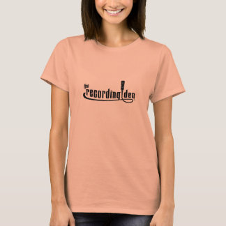 The Recording Den - Women's Fitted T-Shirt