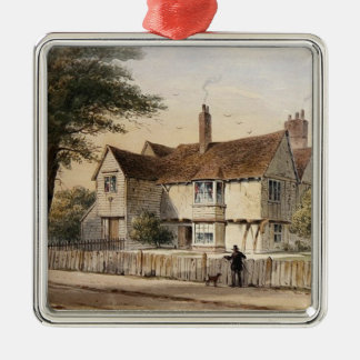 The Rectorial House, Newington Butts, 1852 Christmas Ornament