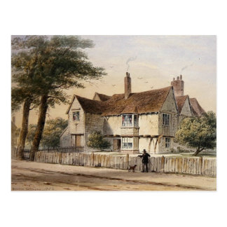 The Rectorial House, Newington Butts, 1852 Postcard
