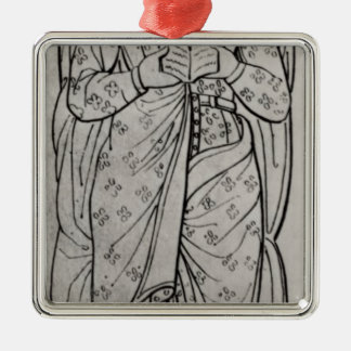 The Recumbant Eleanor of Aquitaine Christmas Ornament