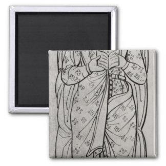 The Recumbant Eleanor of Aquitaine Magnet