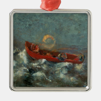 The Red Boat, 1905 Christmas Ornament