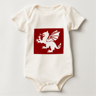 The Red Dragon Baby Bodysuit