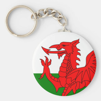 The Red Dragon [Flag of Wales] Keychains