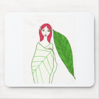 The Red Fairy Mousepad