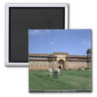 The Red Fort, Agra, Rajasthan, India Refrigerator Magnet