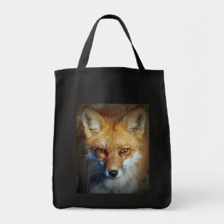 The Red Fox Gifts & Greetings Grocery Tote Bag