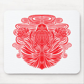 The Red Goldfish Mousepad
