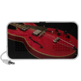 The Red Guitar iPod Speaker
