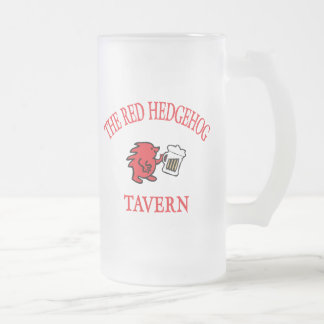 The Red Hedgehog Tavern - Vienna Frosted Glass Mug