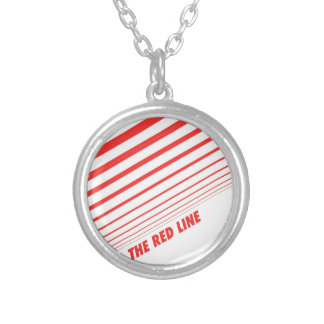 The red line necklaces